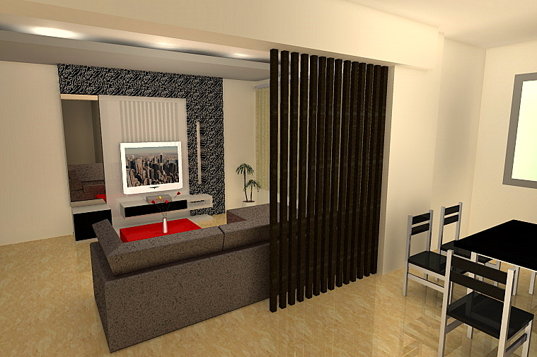 Tips Kombinasi Interior Partisi Ruangan Modern